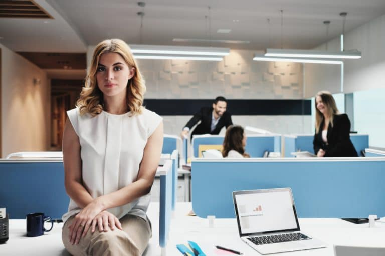 woman not fitting in at work